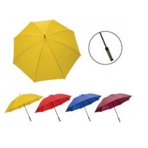 UM-OG05 30 inch Silver Coated Umbrella Manual Open