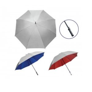 UM-OG06 30 inch Silver Coated Umbrella Auto Open