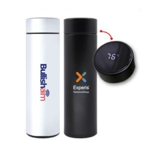 smart led temperature display vacuum flask