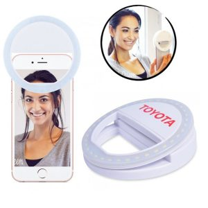 rechargeable ring selfie light
